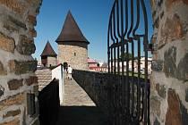 Gotické opevnění v Poličce.