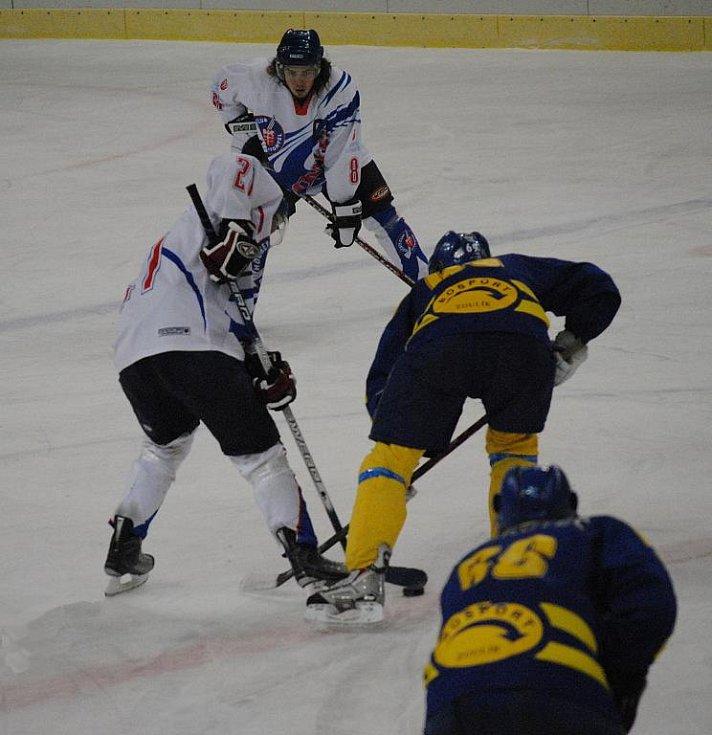 Litomyšl porazila na domácím ledě Skuteč.
