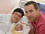 BARBORA HEČKOVÁ. Narodila se 28. září Michaele Tomáškové a Petru Hečkovi z Moravské Třebové. Měřila 47 centimetrů a vážila 2,8 kilogramu.