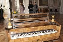 Klavír, na který hrál Bedřich Smetana.