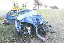 Nehoda v Poličce.
