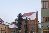 Kaple v areálu domova pro seniory v Moravské Třebové