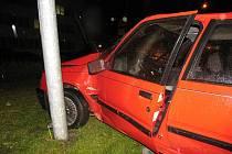 Opilý řidič havaroval v centru Svitav.