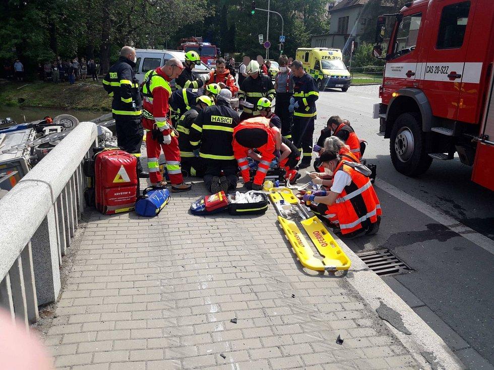 Tragická dopravní nehoda v Poličce