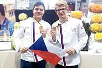 Tomáš Štol (vpravo) s Vojtěchem Petrželou.