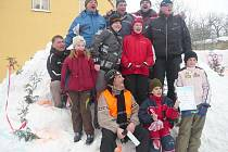 První zimní dětský den v  Chotěnově.
