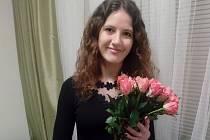 V pražském Obecním domě byla oceněna i 25letá Jana Zatloukalová z Chornic na Svitavsku.