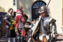 Třicetiletá válka na hradě Svojanov.