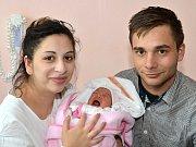 ANGELIKA ŠTEFANOVÁ. Narodila se 2. dubna Dianě Štefanové a Robinu Rafaelovi z Vendolí. Měřila 43 centimetrů a vážila 2,45 kilogramu.