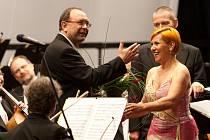 Dagmar Pecková oslavila v Litomyšli na festivalu svým koncertem  třicet let pěvecké kariéry.