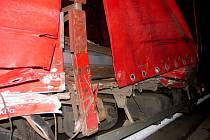 U Koclířova do sebe narazila dvě vozidla.