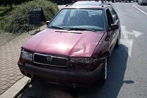 Nehoda v Litomyšli.