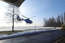 Vážná dopravní nehoda se stala v pátek před osmou hodinou ráno v Opatovci u Svitav.