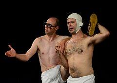Duo Okidok tvořící Benoit Devos (vpravo) a Xavier Bouvier.