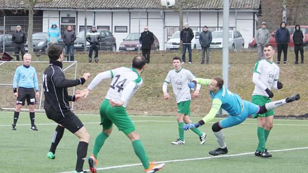 Jiskra Litomyšl vs. FC Hlinsko (3:1).