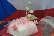 K dobrému umístění cukrářek přispěl i slavnostní dort a výrobek z karamelu
