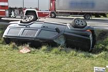 Nehoda jeepu.