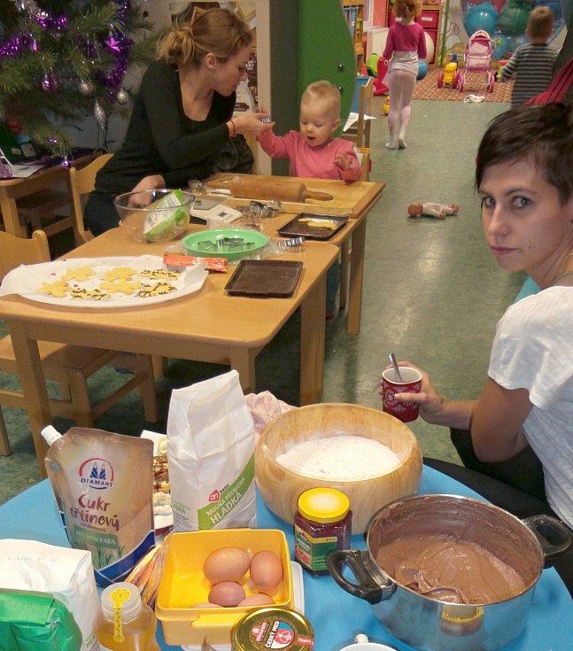 V malé pekařství se přeměnila herna mateřského centra Krůček ve Svitavách.