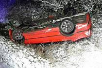 Námraza a náledí potrápila řidiče v neděli večer na Svitavsku a Orlickoústecku