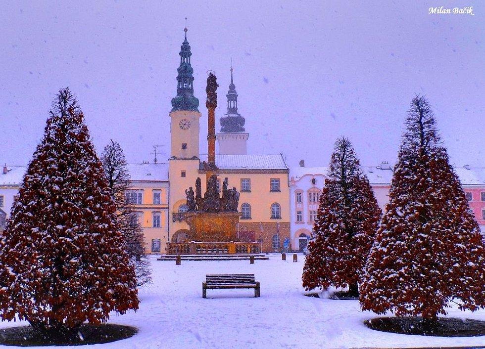 Moravská Třebová - 8. února ráno