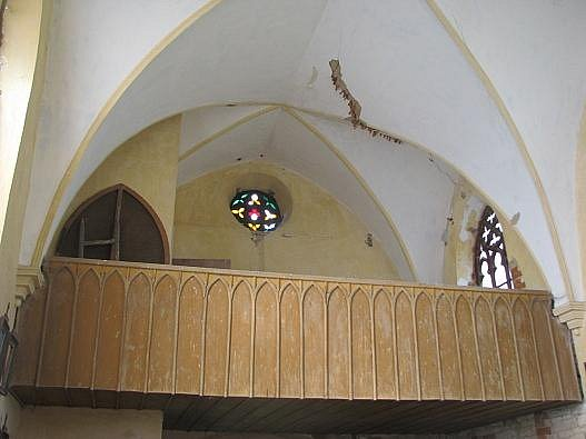 Otevření zničené kaple na Hřebči.
