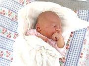 GABRIELA ŠVECOVÁ. Slečna spatřila světlo světa 29. září ve 14.16 hodin. Vážila 3,35 kilogramu a měřila 49 centimetrů. Tatínek Jaroslav byl mamince Janě u porodu oporou. Rodina bydlí v Čisté.