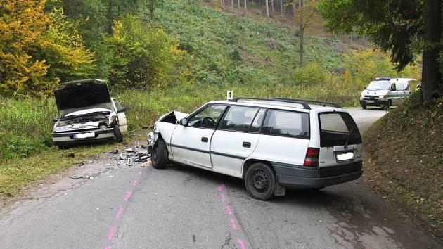 Dopravní nehoda u Gruny