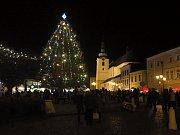 Rozsvěcení vánočního stromečku v Svitavách