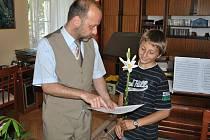 Pro vysvědčení si přišli žáci i do hudební školy v Litomyšli