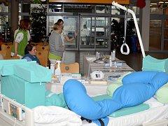 Den proti dekubitům ve svitavské nemocnici.