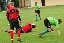 Fotbalisté Hradce nad Svitavou vybojovali cenné vítězství v Morašicích.