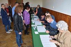 Volby 2017 v Litomyšli.