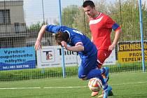Zápas Svitavského béčka se Starým Hradištěm skončil penaltovým rozstřelem.
