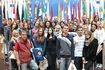 Z VÝLETU studentů jevíčského gymnázia.