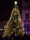 Rozsvěcení vánočního stromečku v Litomyšli