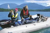 LEOŠ ŠIMÁNEK bude na své diashow vyprávět zážitky z cest po panenské přírodě Aljašky.
