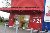 Obchodní dům Tesco v Poličce