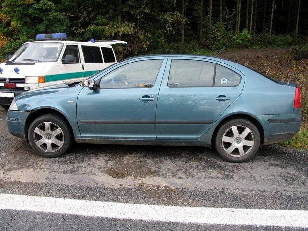 Horkou chvilku zažila řidička z Lanškrouna.