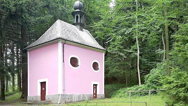 Poutní kaple Panny Marie.