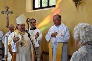 V pátek 9. srpna 2019 biskup Jan Vokál po dokončené opravě požehnal kostel sv. Josefa v Koclířově nad tunelem v osadě Hřebeč.