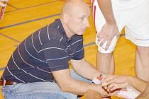 Trenér Stanislav Petr.