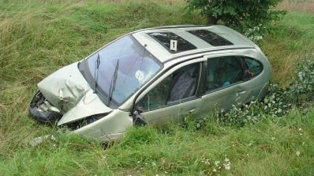 Dopravní nehoda u Tržku.