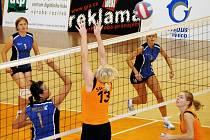 Svitavské volejbalistky uhájily nedobytnost své domácí haly také v utkáních proti hráčkám z Lanškrouna.