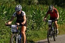 Nejlepší žena cyklomaratonu Leona Bošková za sebou nechala i muže, kteří startovali ve stejném závodu.