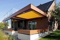 Prstencová přístavba rodinného domu v Ústí nad Orlicí. Foto: Jan Košař