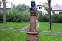POMNÍK Schillera v Moravské Třebové byl vytvořen podle plastiky od sochaře Danneckera