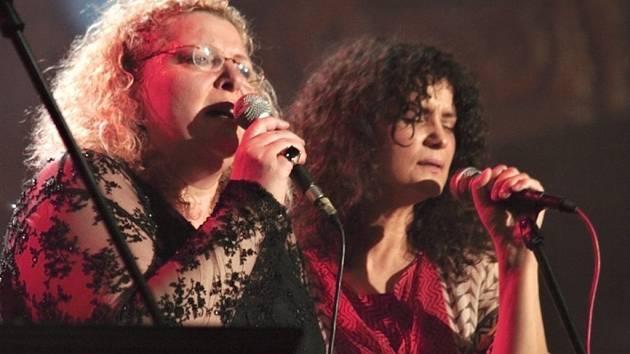 IDA KELAROVÁ (vlevo) na festivalu nedaleko Svojanova vystoupí také se svou známější sestrou Ivou Bittovou.