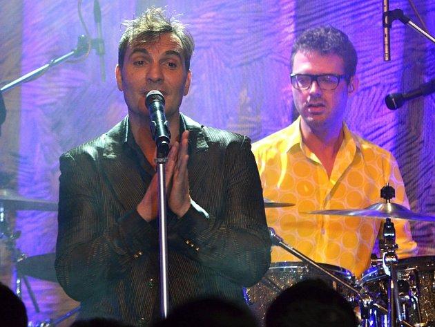 Koncert kapely MIG 21 v litomyšlské Kotelně.