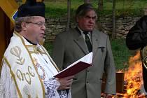 Slavnostní otevření unikátní kaple.