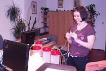 Pečetění pokladniček na MÚ Polička.